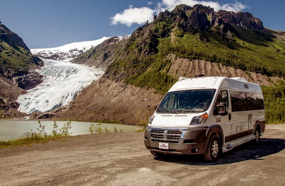 Van de luxe dans l'Ouest canadien