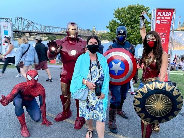 La thématique des Super Héros, en vedette cette année