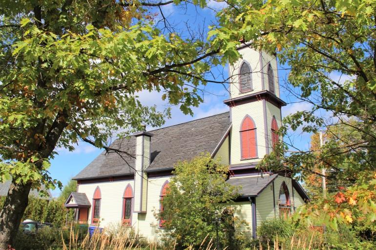 L'ancienne église anglicane de Scotstown