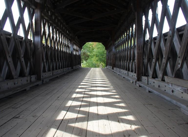 Pont couvert Mc Vetty-McKenzie, à Gould