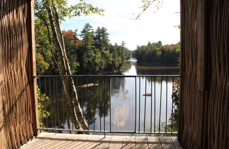 La shed de East Angus, au Parc des Deux Rivières